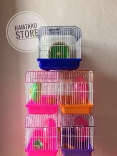 Kandang mini hamster