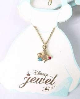 日本正版Disney頸鏈necklace - 愛麗斯夢遊仙境Alice in Wonderland