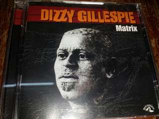 Music CD (2xCD): Dizzy Gillespie ‎– Matrix (The Perception Sessions) - Jazz