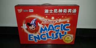 Educational Disney Magic English - 26 DVDs / 6 VCDs / 5 Books