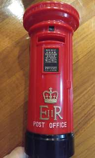 全新港英時代郵筒錢箱Bramd new ER2 post box money bank