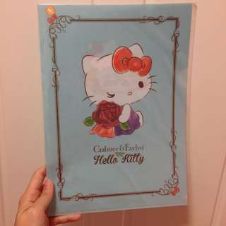 Hello Kitty X Crabtree & Evelyn folder