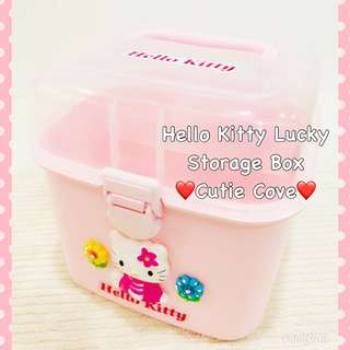 *NEW IN IN SG* Hello Kitty Lucky Storage Box