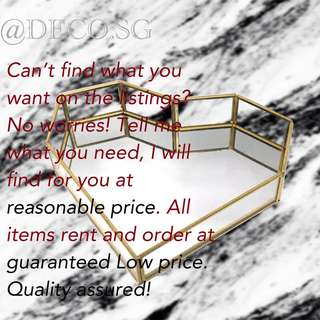 Good quality items @ Low price