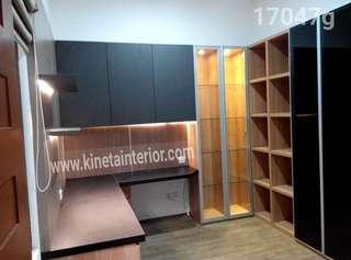 Meja kerja kitchen set furniture HPl duco