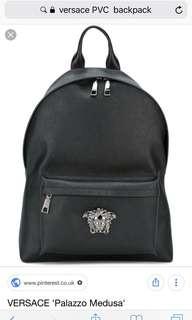 VERSACE PVC Backpack