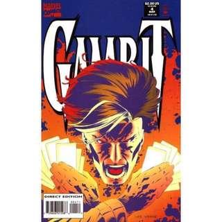 💯 Gambit Issue #4 Marvel Comics