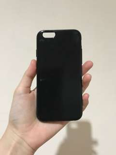 Jelly case iphone 6/6s- Jet Black