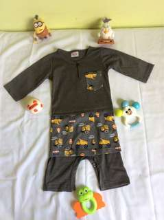 #Baju Melayu baby#romper