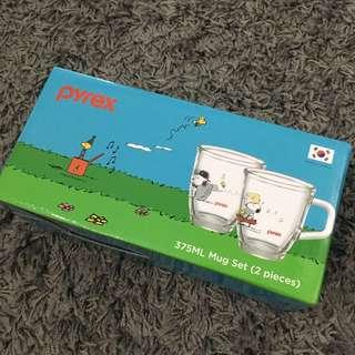 Pyrex Snoopy Mug