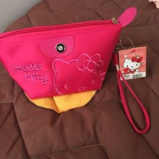 Kitty化妝包 手拿包