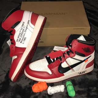 Nike Air Jordan 1 x Off White mirror 1 : 1