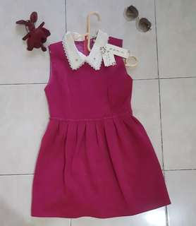 Dress pink purple new with tag