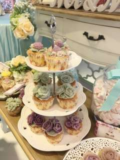 韓式唧花蛋糕