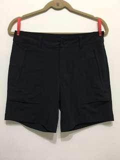 🚚 膝上黑色西裝短褲