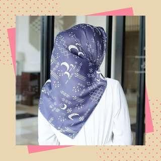 Hijab moonlight (navy)
