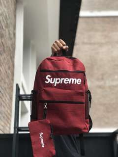 Supreme Bagpack Red