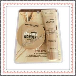 Maybelline 2 in 1 Dream Velvet Foundation and Face Powder