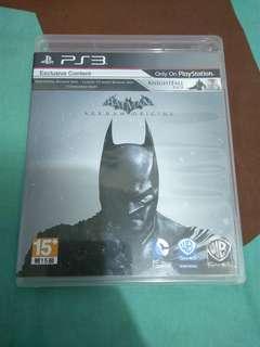 PS3 Batman arkham origins 有特典