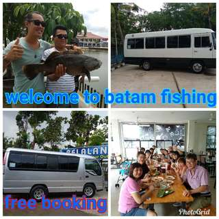 Batam transport+tickets ferry driver