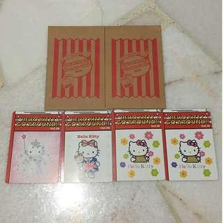 Hello Kitty Go Around!! Collectable Sticker Cards