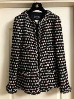 Chanel tweed jacket Sz 40 used