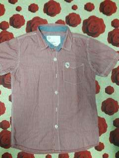Padini Shortsleeves stripe shirt
