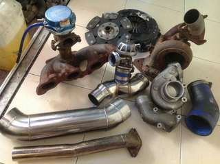 Bolt on turbo piping set for SAGA BLM 1.3 (M)