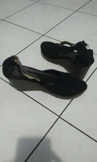 Wedges 10cm col.black