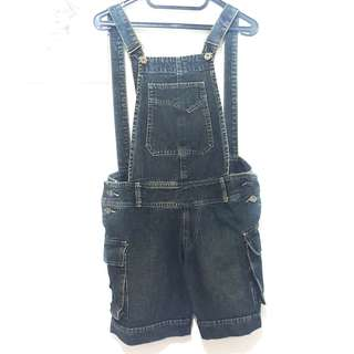 (PRELOVED) DENIM/JEANS CELANA KODOK / DUNGAREE