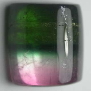 Natural Bi Color Tourmaline Cabochon. Good for Collection. Nice for Ring.