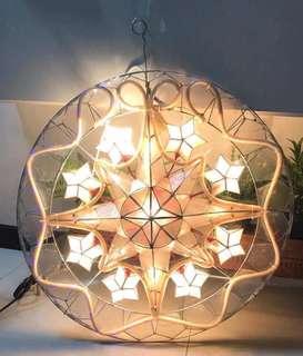 Capiz lantern
