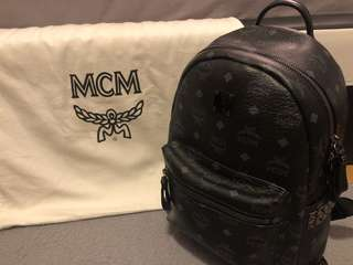 Authentic Mcm Small Backpack