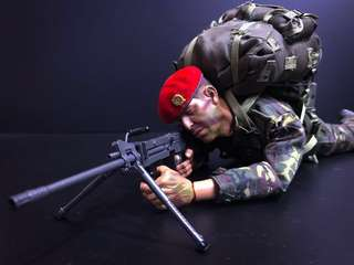 1/6 Scale SAF Commando with Ultimax 100 SAW (2nd Gen)