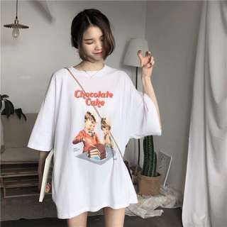 PO Graphic Tshirt dress