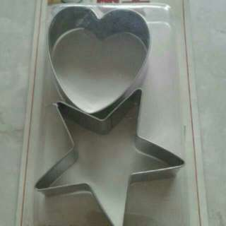 BN heart and star cookie cutters