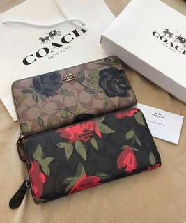 READY STOCK AUTHENTIC COACH WOMEN WALLET