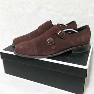 LAST PRICE From 2000 Zalora Double Strap Monk Suede Dress Shoes