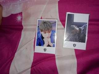 Photocard (1 set isi 2 photocard)
