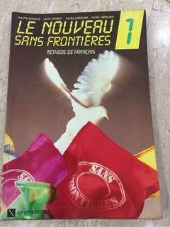 French language books Le Nouveau Sans Frontieres Methode De Francais