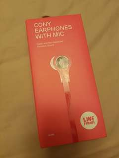 Cony Earphones with Mic