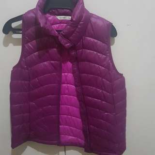 Old Navy Pink Puffer Vest