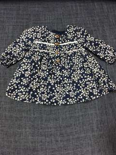 Baby Floral Blouse