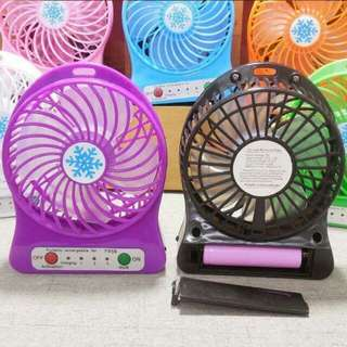 Mini fan Rechargable