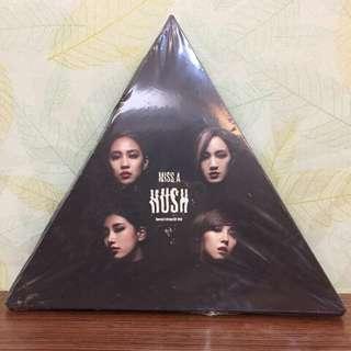 🚚 (二手交流)MISS A HUSH CD+DVD
