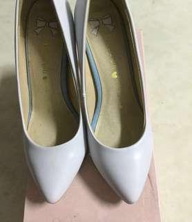 水藍色高跟鞋grace gift