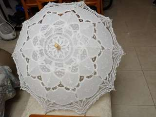 Pre-wedding 復古英倫蕾絲傘