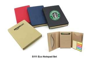 Wholesale Eco Notepad Set