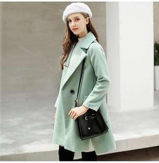 Korean Mint Green Coat