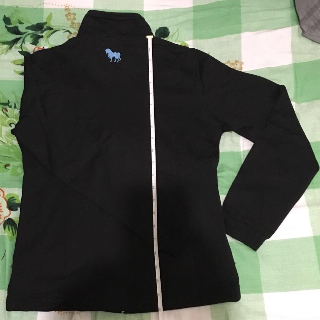 環保清櫃 全新女裝拉鍊外套,兩邊側袋有拉鍊